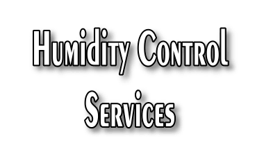 Home humidity control services