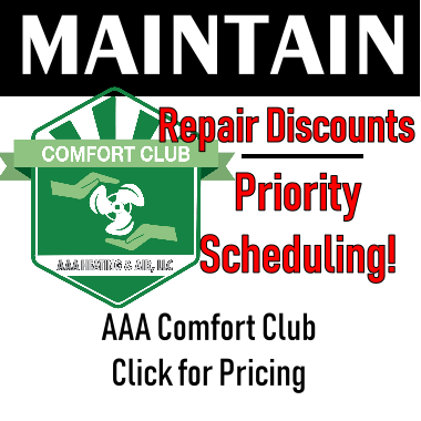 AAA Heating & Air Maintenance Contracts