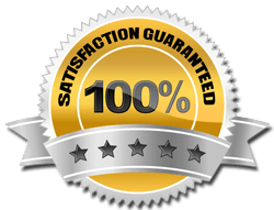 Warranty Seal - 100% satisfaction guarantee