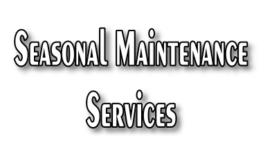 Seasonal system maintenance services